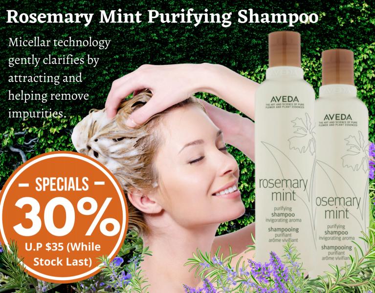 Rosemary Mint Shampoo Promotion 30%