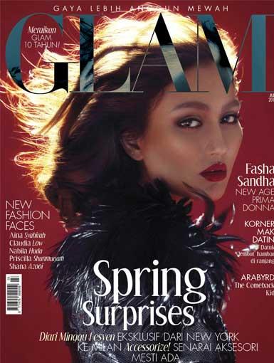 glam FASHA mac 2014