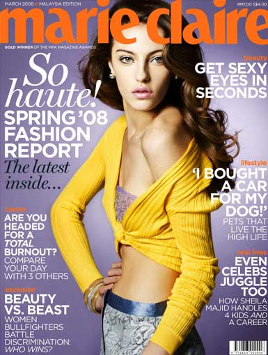 Marie Claire  march 2008